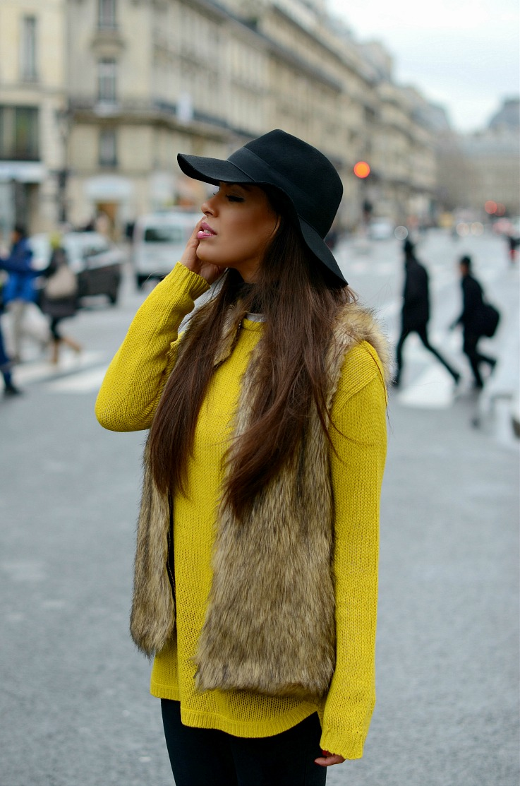 DSC_5180 Yellow Zara Sweater, Myca couture Hat, Paris resized final