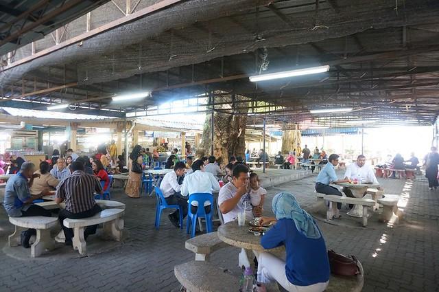 Mee Sotong Penang & Coconut Shake - (Halal) at Padang Kota (Esplanade) -006