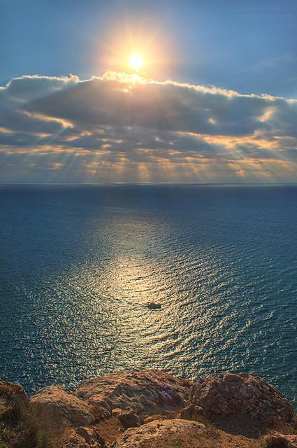 Море возле Балаклавы