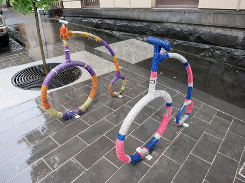 Collingsworth Yarn Bombing