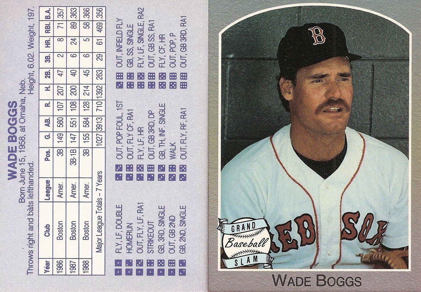 1989 Grand Slam Baseball Game (gray border)