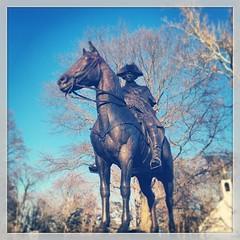 #WashingtonHeadquartersStatue #Newark