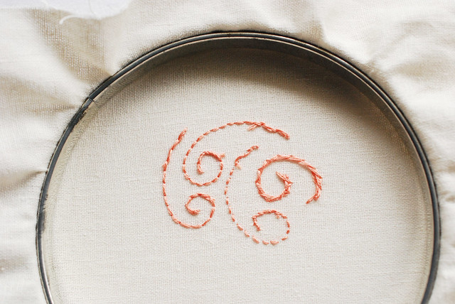 I Heart Tidy Embroidery // Pretty on the Back