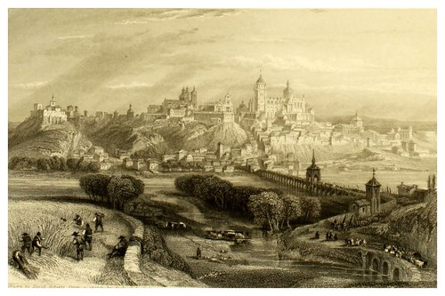 006-Salamanca-Picturesque views in Spain and Morocco…Tomo II-1838-David Roberts