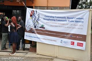 Community radios workshop
