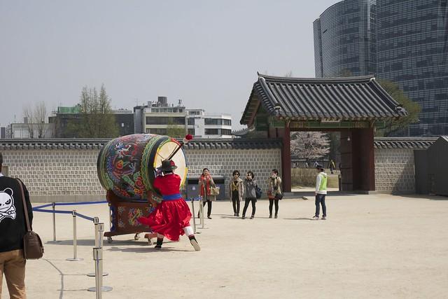 Gyeongbokgung Changing