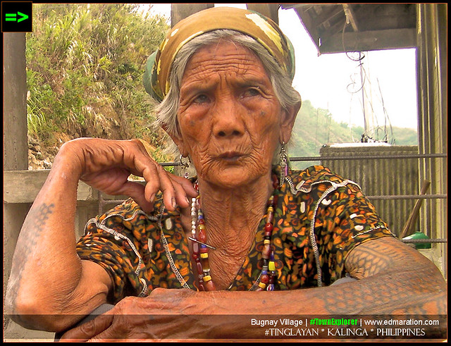 Kalinga Tattooed Woman