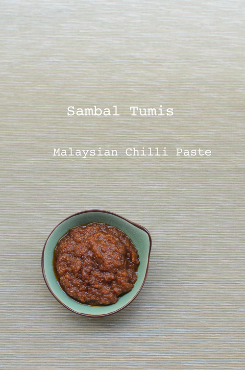 Malaysian Chilli Paste