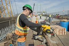 Bronx-Whitestone Bridge Construction