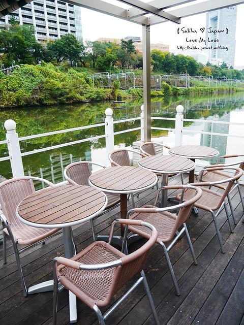 日本東京自由行賞櫻canal cafe水上餐廳 (13)