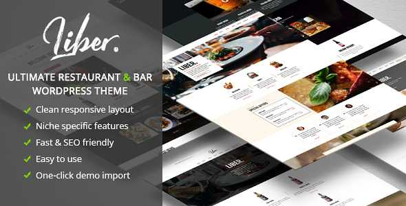Liber WordPress Theme free download