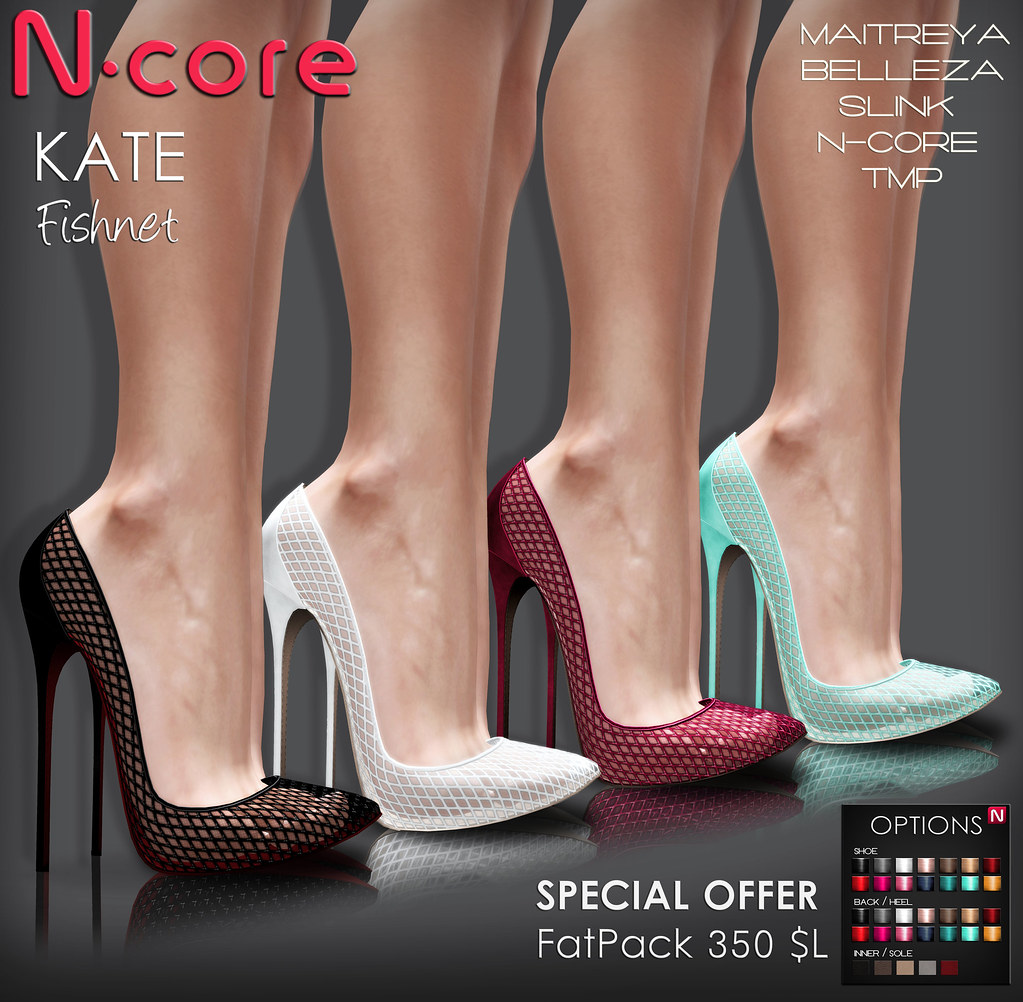 N-core KATE Fishnet (Special OFFER) - SecondLifeHub.com