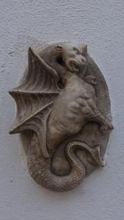 Dragon wall ornament