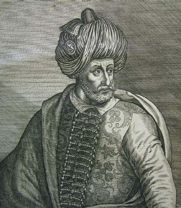 Portrait of Bayezid I