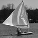 Sailboat on the Huron River by BRB1952