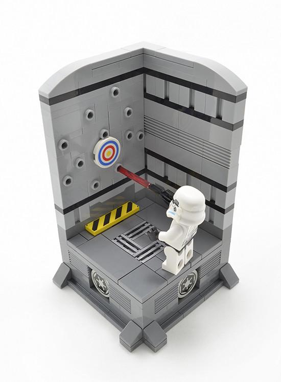 Pride of the Empire (custom built Lego model)