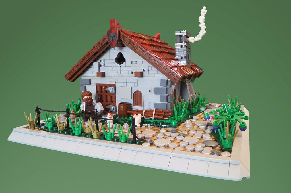 Dungurs Forge (custom built Lego model)
