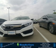 Congratulations Yevgeniya on your #Honda #Civic Sedan from Terry North at Honda Cars of Rockwall!