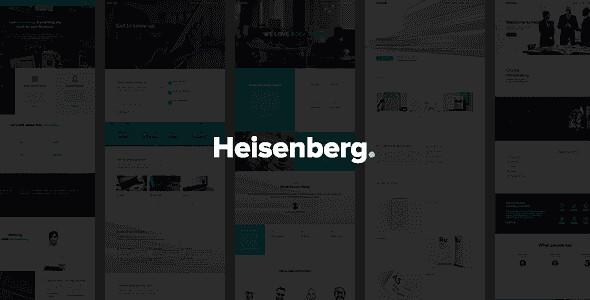 Heisenberg WordPress Theme free download