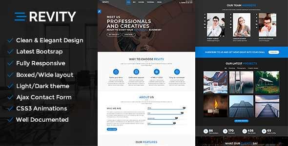 Revity WordPress Theme free download