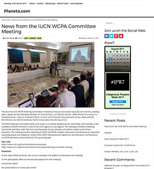 News from the IUCN WCPA Committee Meeting – Planeta.com (2017-03-27 12-10-02)