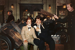 Movieland Wax Museum - Laurel and Hardy in The Perfect Day - 1987