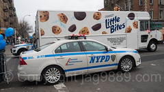 NYPD Precinct 28 Police Patrol Car, Car Free Earth Day, Washington Heights, New York City