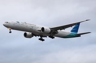 PK-GIG Boeing 777 Garuda