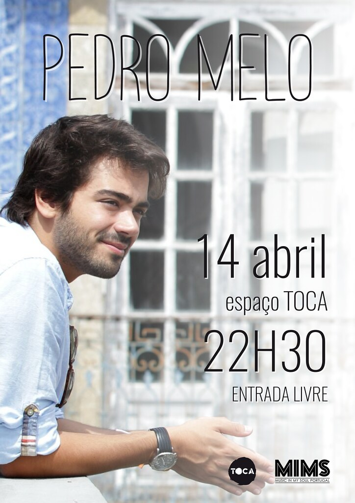 Pedro Melo_Flyer Concerto TOCA