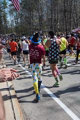 2017 Boston Marathon Start Line - Wave 1 Runners