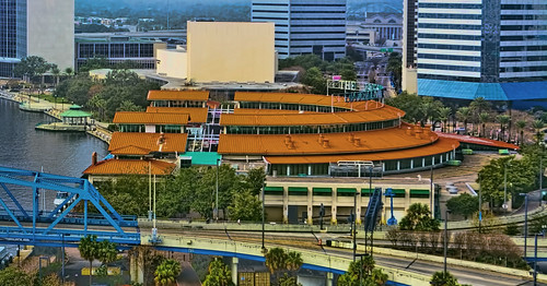 Jacksonville Landing, 2 W Independent Drive, Jacksonville, Florida, USA / Architect: Benjamin Thompson and Associates, Inc. / Opening date: June 25, 1987