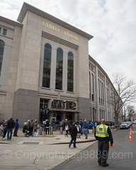 Gate 2 at Yankee Stadium, The Bronx, New York City
