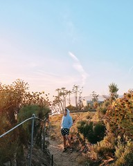 My favorite month is passed but every weekend in May is going to be exciting✨🙊 #malibu #pointdume #westcoast #cali #sunset #boy #nature #california #like4like