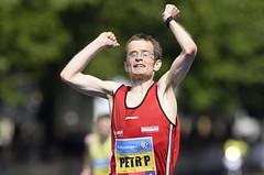 Pechek vyhrál pátý maratonský titul, v ženách padl rekord závodu