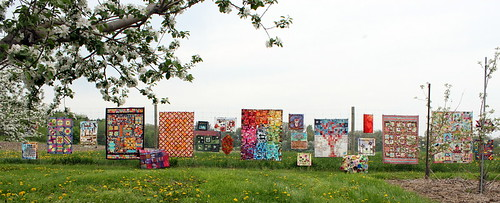 Pop Up Outdoor Quilt Show
