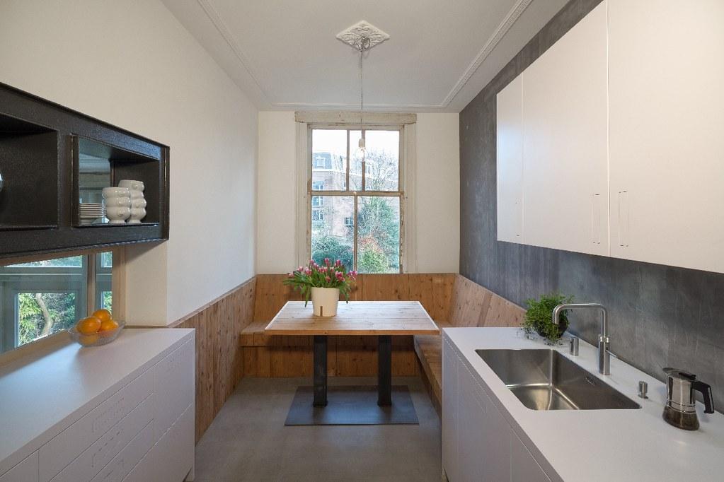 Keuken Met Zithoekje : Herenhuis heemraadssingel nieuwe keuken met zithoek vanu flickr