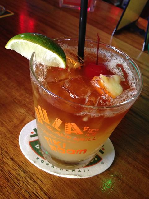 Hula's mai tai - Hula's Island Grill
