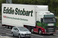 Volvo FH 6x2 Tractor - PX10 DKK - Elisha Jade - Eddie Stobart - M1 J10 Luton - Steven Gray - IMG_0325