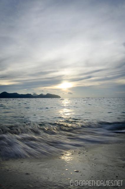 Pom Pom Sunset
