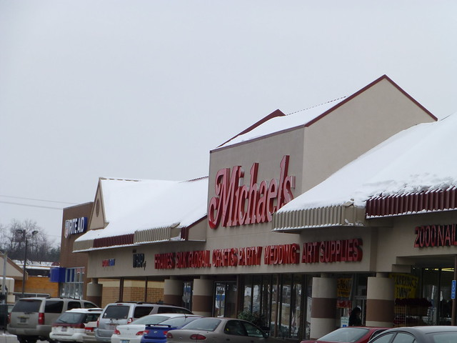 Michaels arts and crafts in boardman ohio flickr for Michael arts and crafts job application