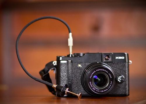 Nikon Cable Release on Fuji X20