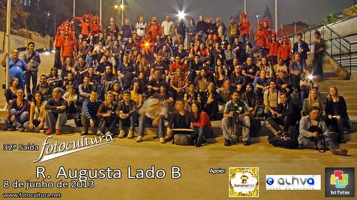 Oficial da 32ª Saída Fotocultura: R. Augusta Lado B