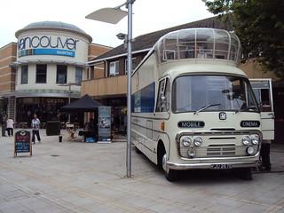 Vintage Cinema Bus in King's Lynn