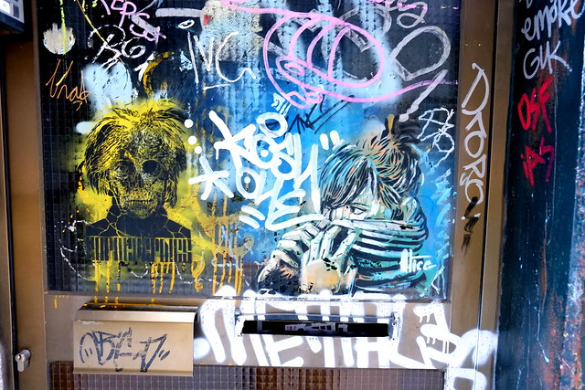 streetart   alice   barcelona 2013