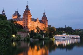 Castillo Johannisburg, en Aschaffemburgo.