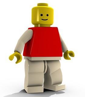 LEGO Minifigure Dude
