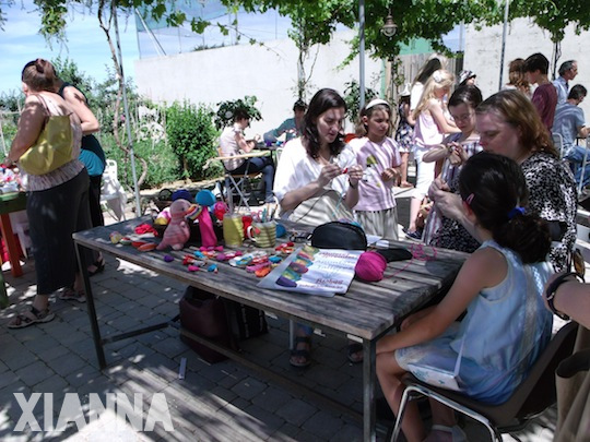 Etsy Craft Party 2013 taller de ganchillo