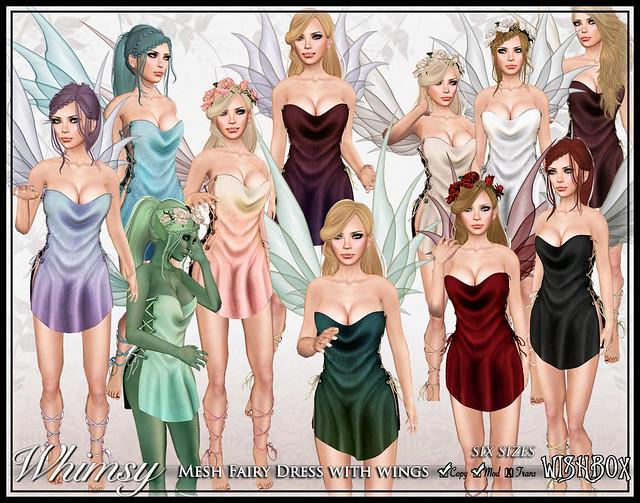 Whimsy Mesh Fairy (Megpack)
