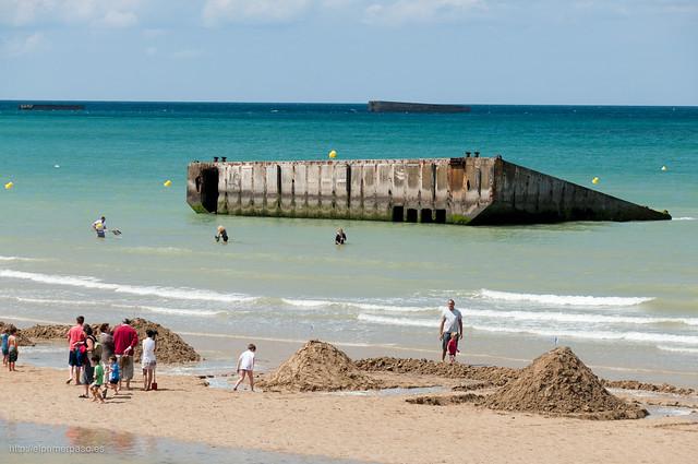 Normandía - Zona del desembarco