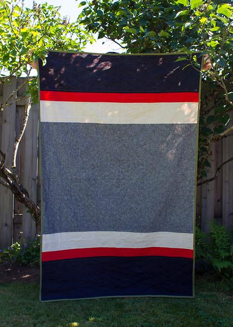 camp quilt